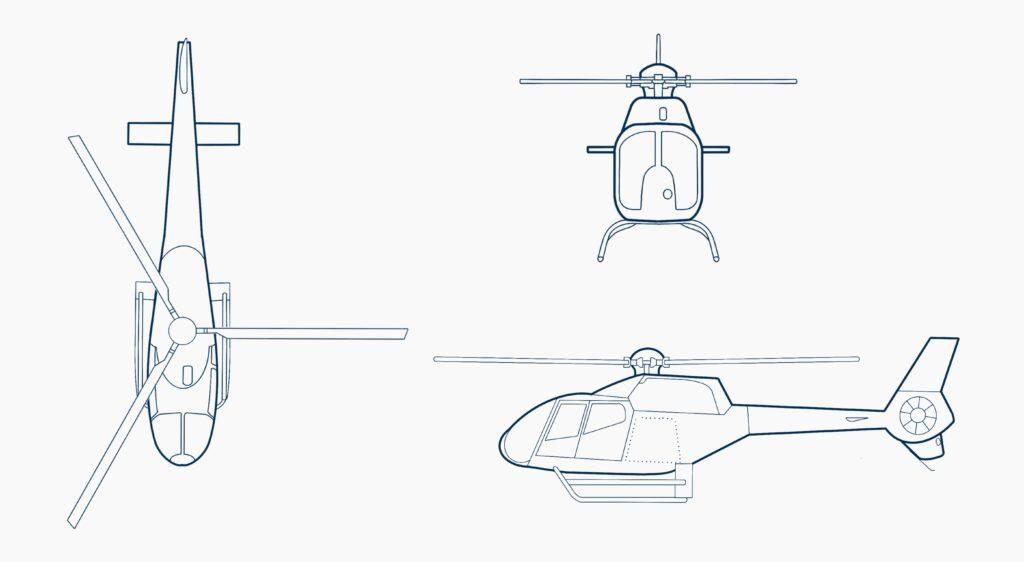 Airbus-EC120B-drawing