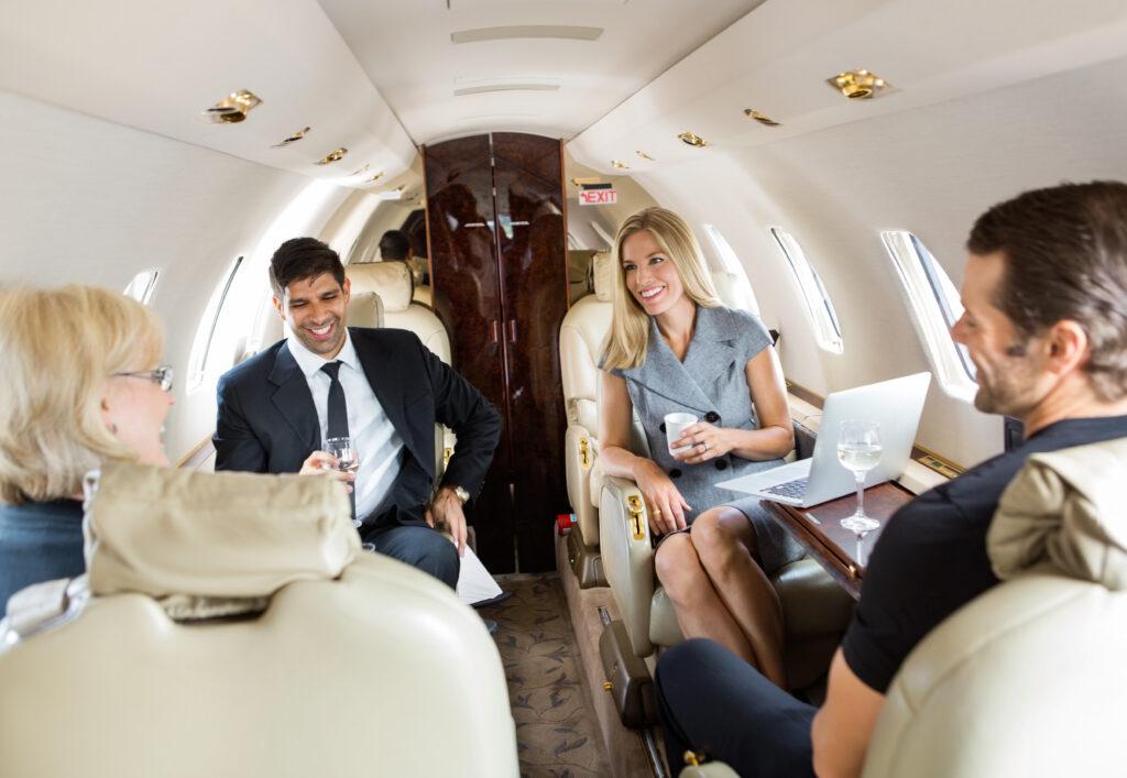 affarsflyg-inside-plane